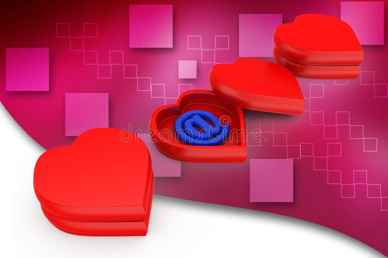 3d new generation love illustration