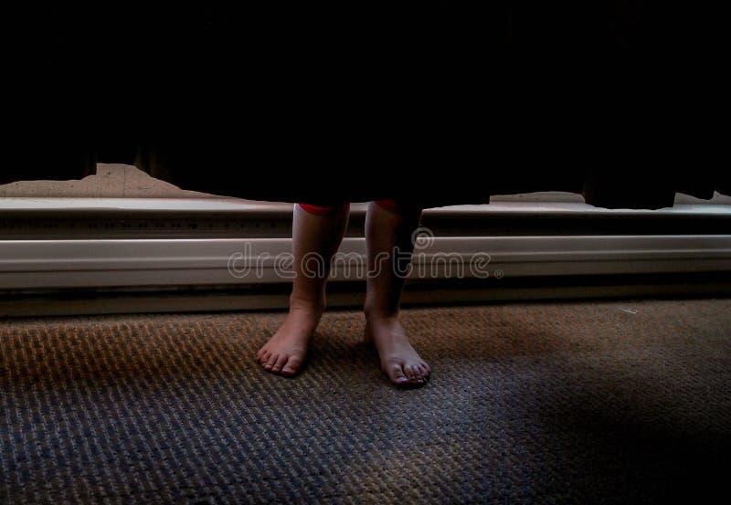 D'où vous cachez-vous ? images libres de droits