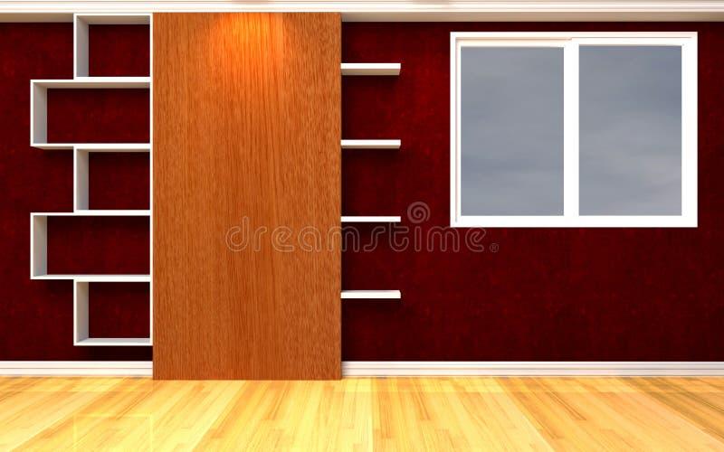 3 d obraz wewnętrzny salon royalty ilustracja