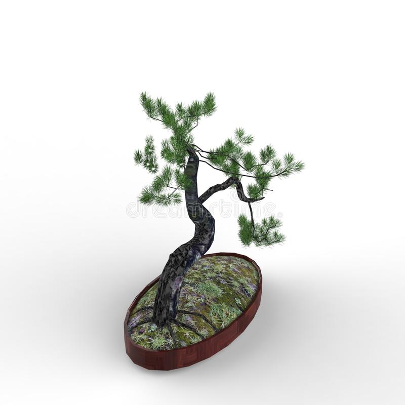 3d odpłaca się bonsai tworzył używać blender narzędzie ilustracji