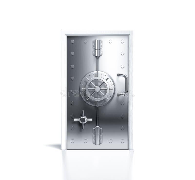 3d odpłaca się os bezpieczna drzwiowa domowa ochrona zdjęcie royalty free