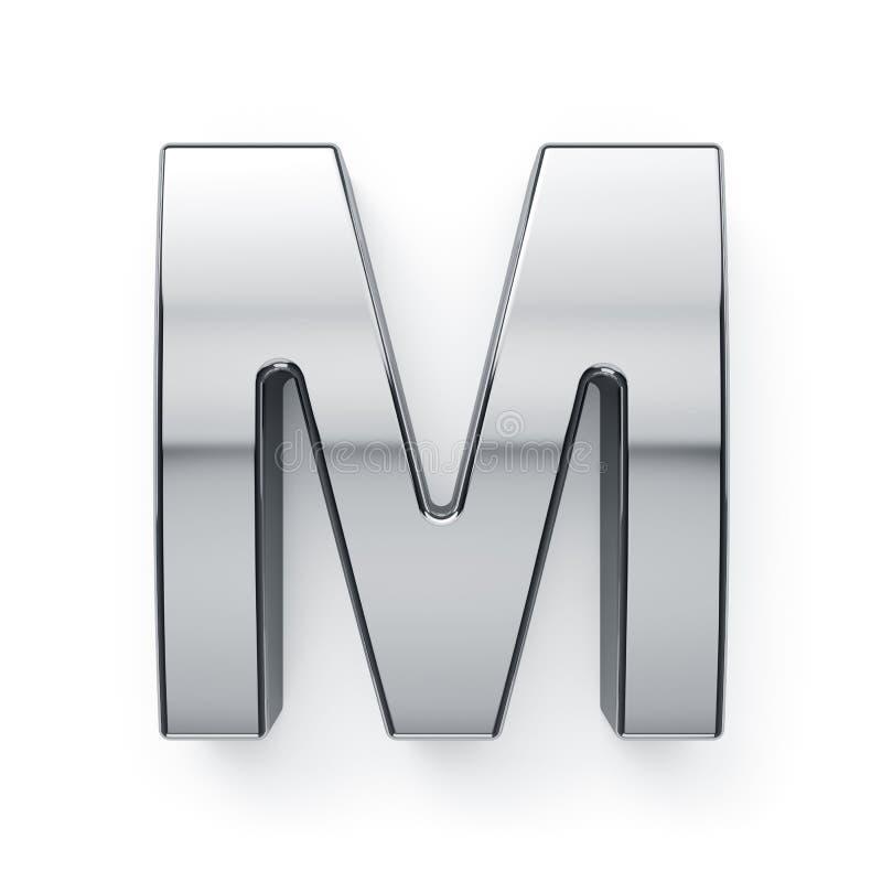 3d odpłacają się kruszcowy abecadło listu simbol - M ilustracji