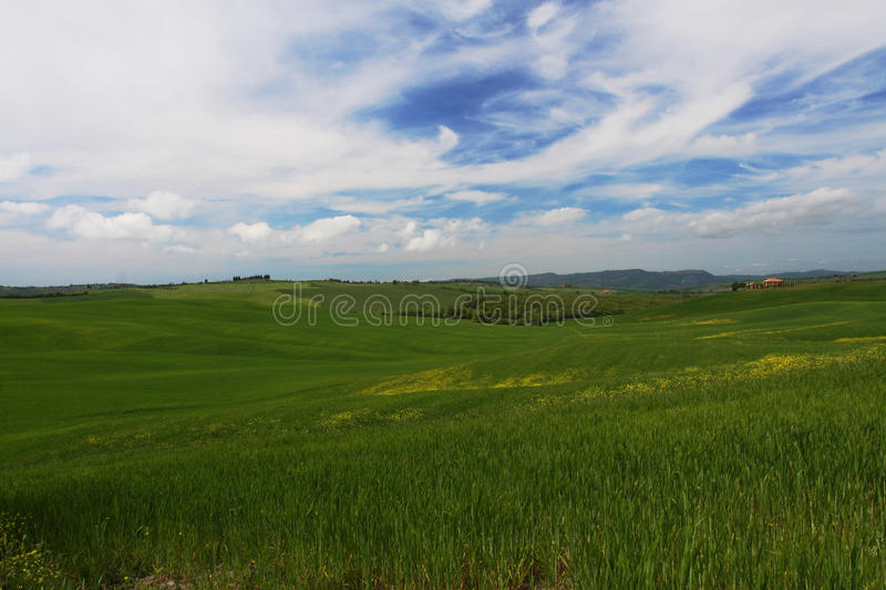 d ' orcia val obrazy royalty free