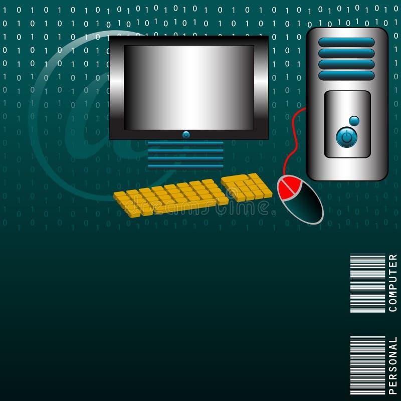 D'ordinateur personnel illustration stock