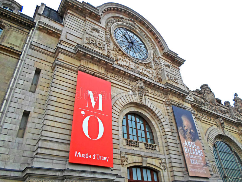 D-` Orsay-Museum, Paris stockbild