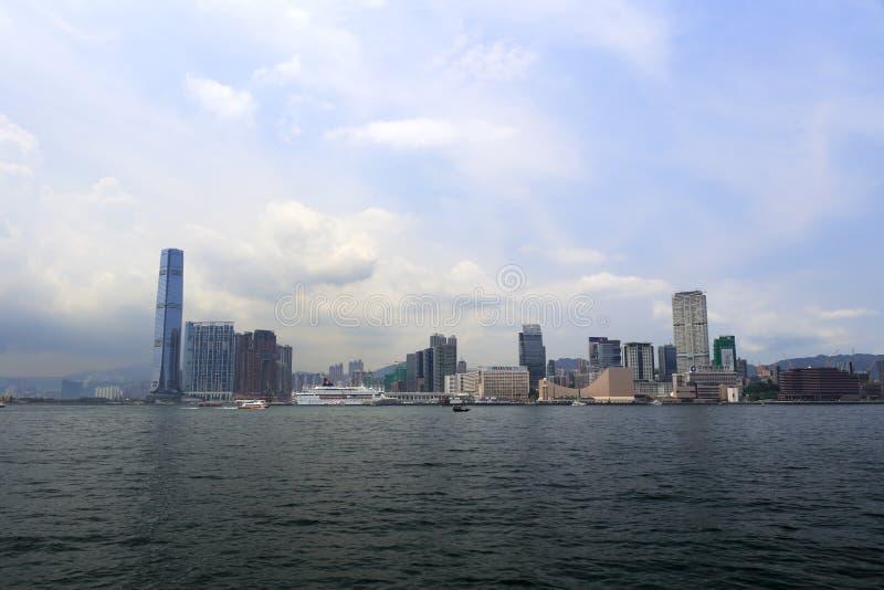 D'outre-mer de Kowloon, Hong Kong images stock