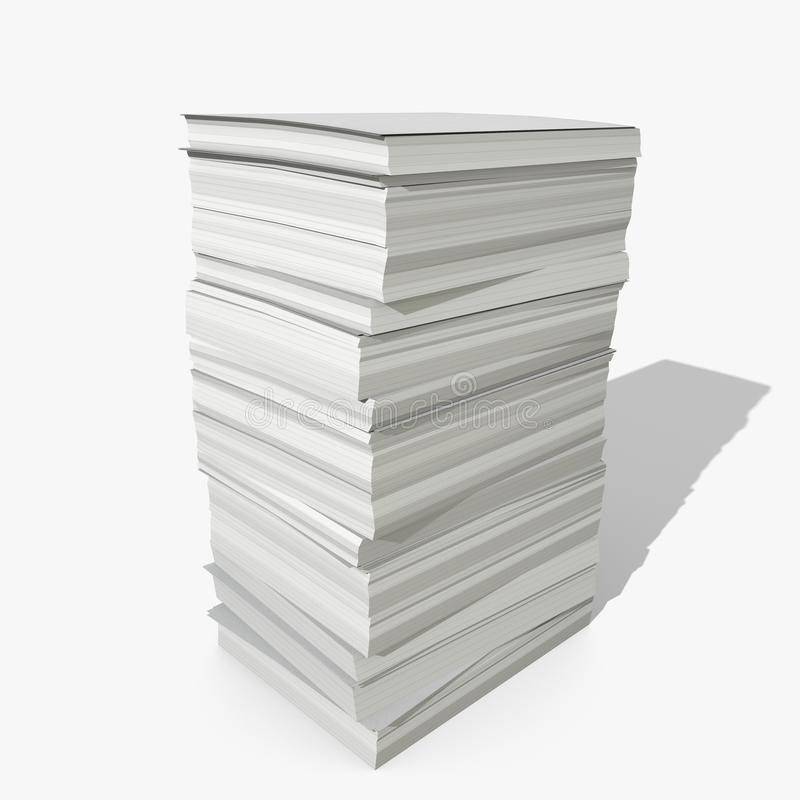 3d Paper Stack