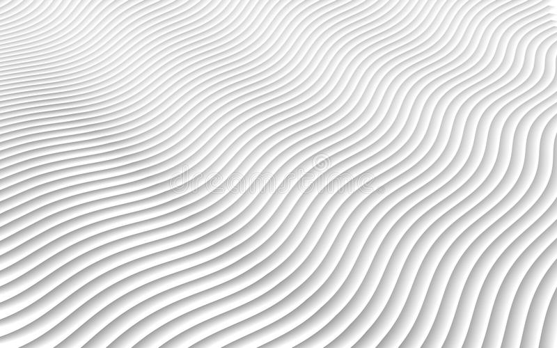 3D papercut abstract pattern. Gradient white paper layers. Vector background. Design layout of shape paper cut . 3D papercut abstract pattern. Gradient white royalty free illustration