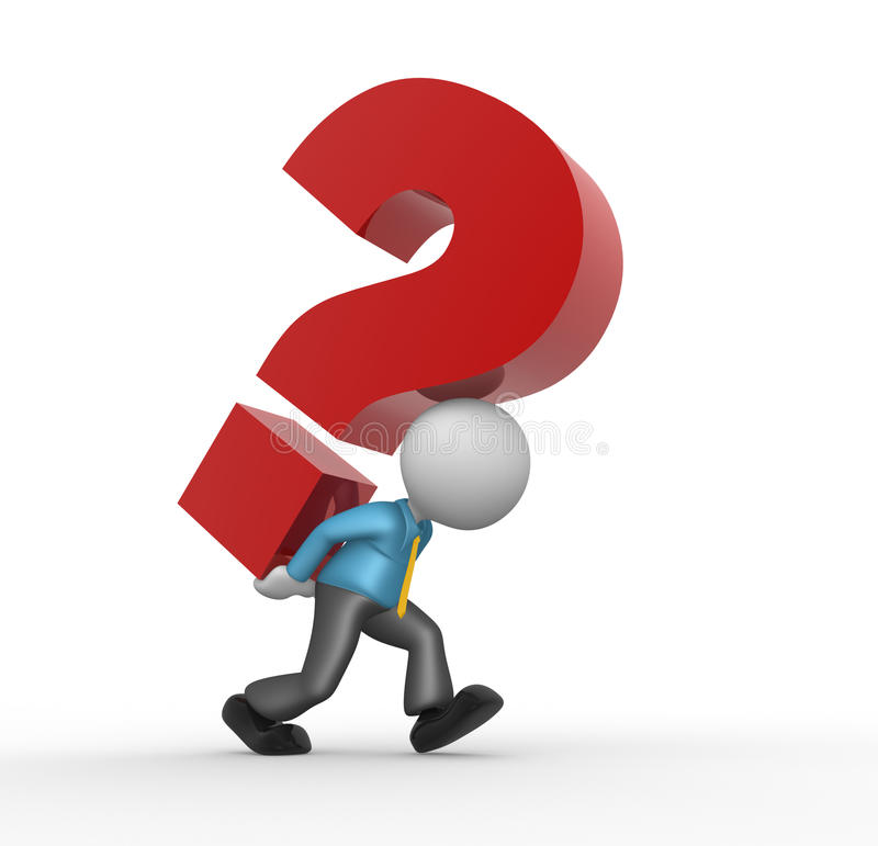 Question Mark Stock Photo - Image: 29885670