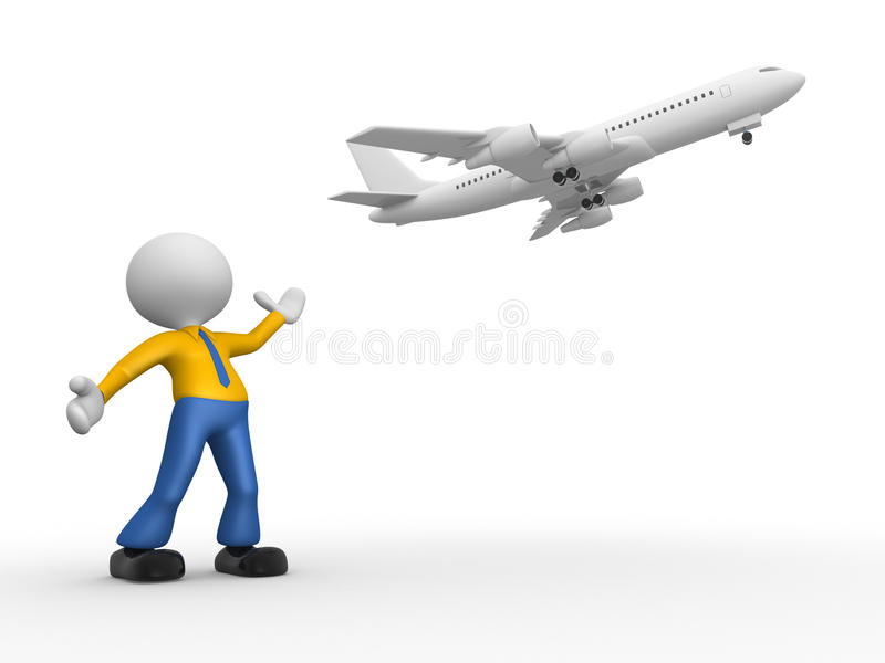 Download Airplane stock illustration. Image of plane, above, puppet - 29885567