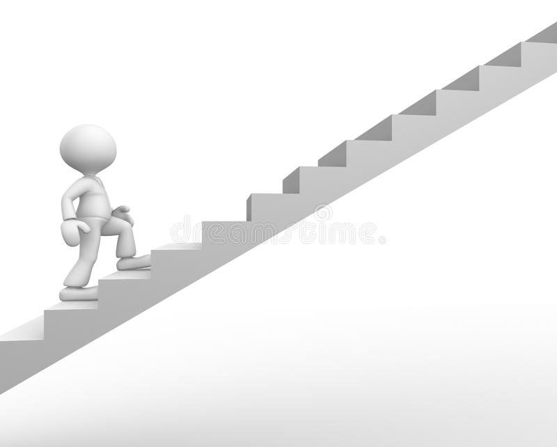Stair royalty free illustration