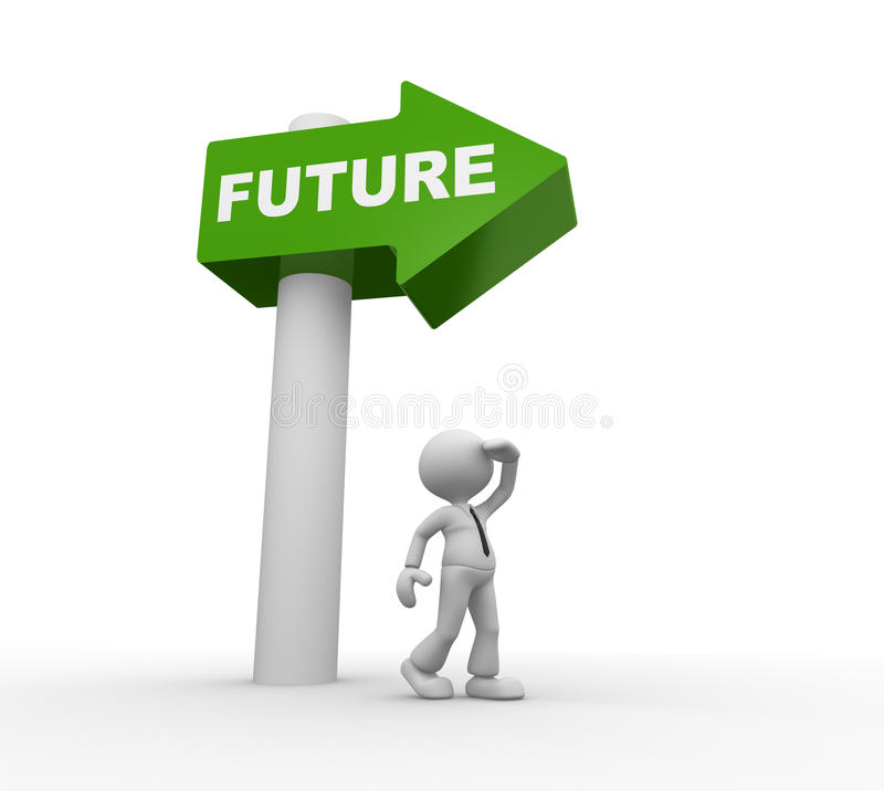 Download Vision stock illustration. Image of next, choosing, direction - 30269007