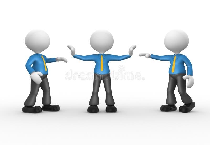 Businessmen royalty free illustration