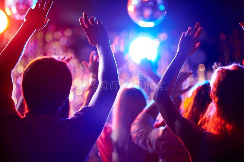 3d piękni dancingowi ilustracyjni ludzie trzy bardzo zdjęcia royalty free