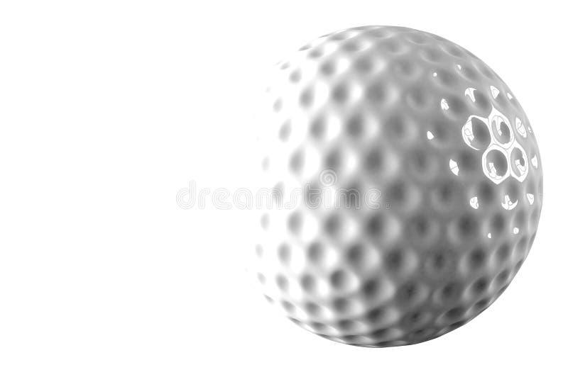 3d piłka golfowa zdjęcie stock