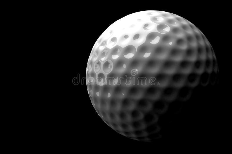 3d piłka golfowa ilustracji