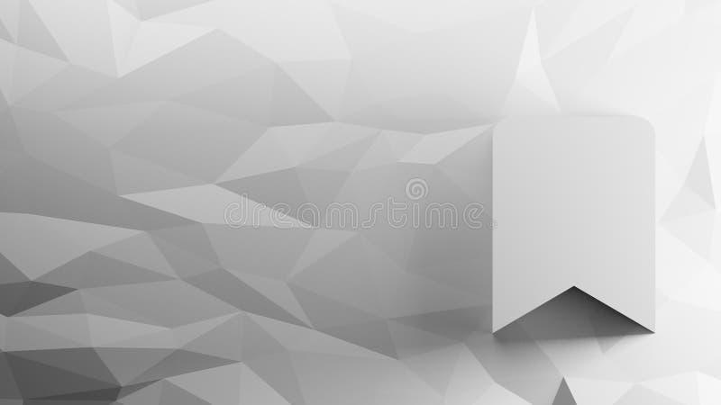 3d pictogram van referentie vector illustratie