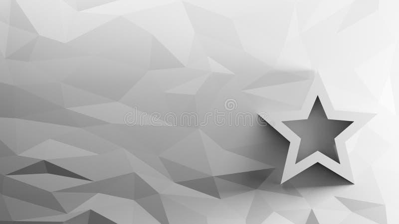 3d pictogram van referentie stock illustratie