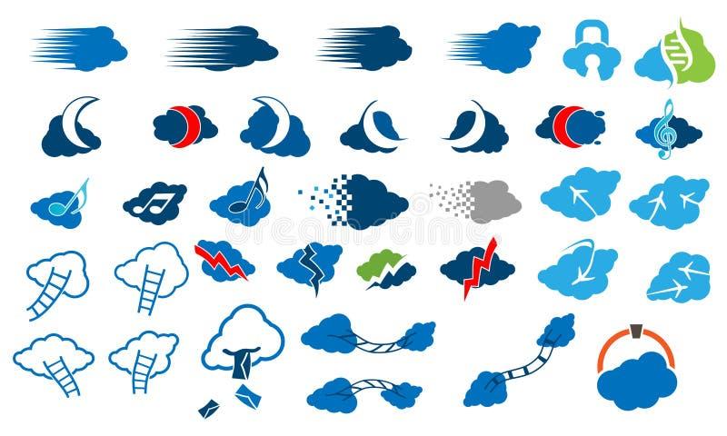 3d pictograms uppsättning, uppsättning 20 Vektor i CMYK-funktionsläge stock illustrationer