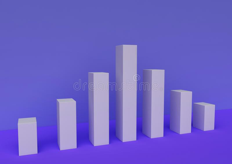 The 3d picture about infographic vector illustration