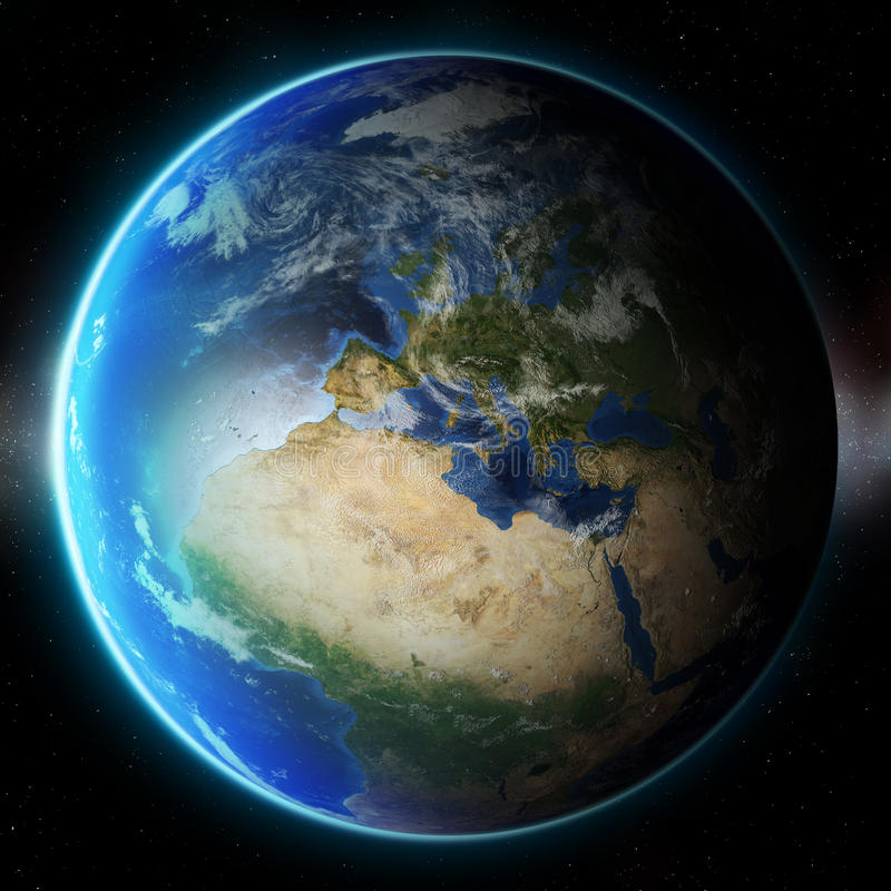 3D Planet Earth. Elements of this image furnished by NASA. Other. 3D Planet Earth. The elements of this image furnished by NASA. Other orientations available vector illustration