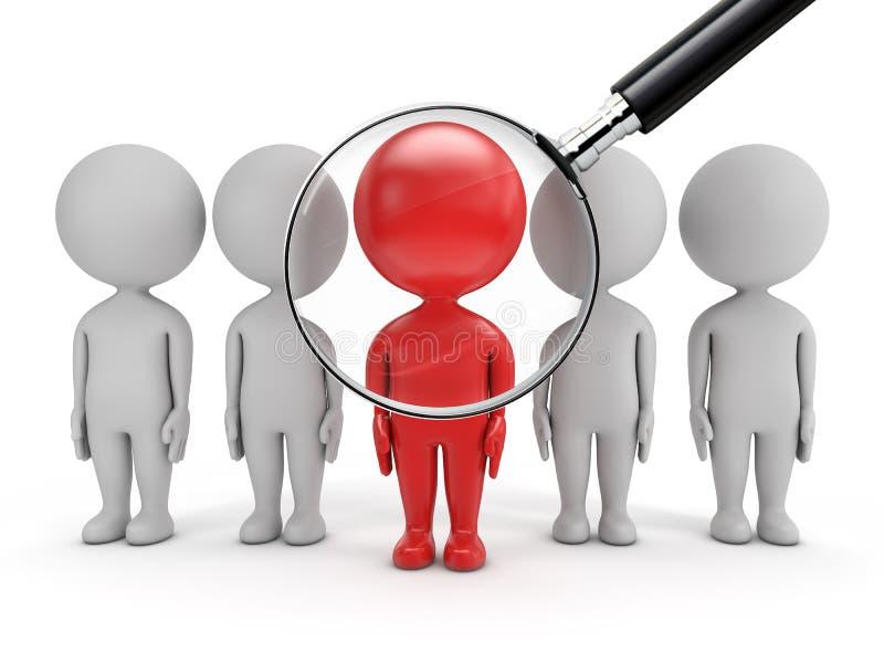 3d povos bonitos - procura de emprego