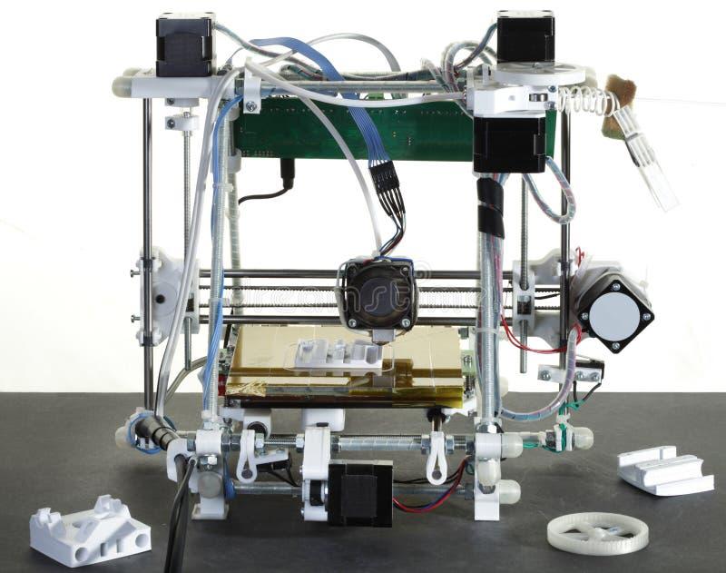 3D Printer stock afbeelding