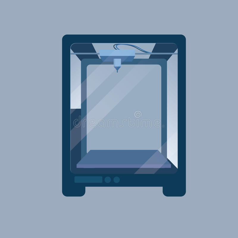3D Printer royalty free stock photos