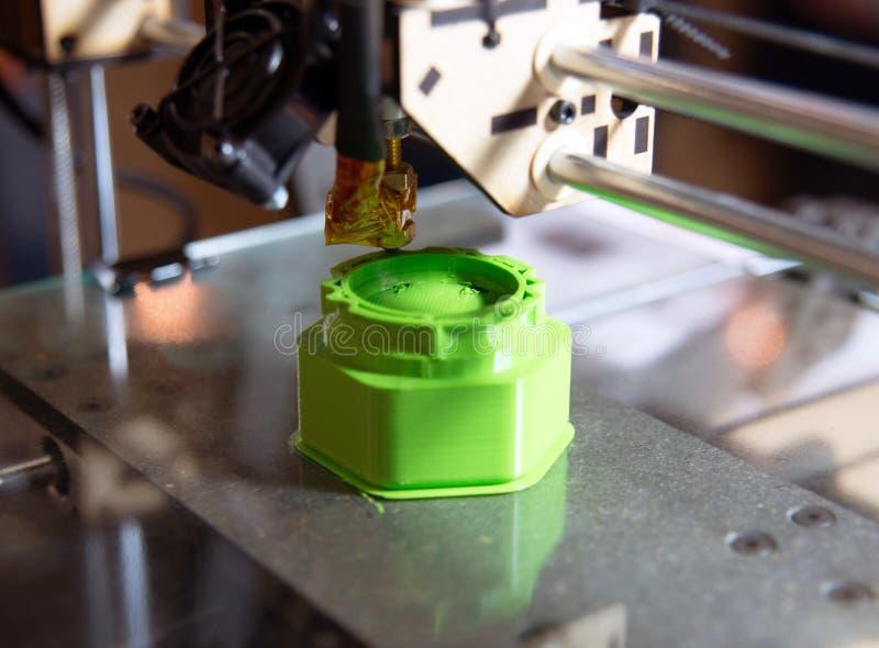 3D Printer - FDM-Druk royalty-vrije stock afbeelding