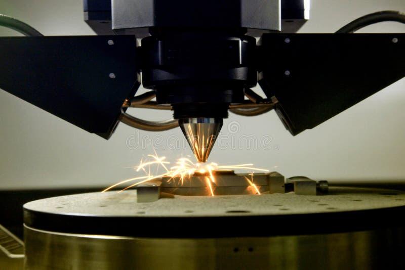3D printer voor metaal royalty-vrije stock afbeeldingen