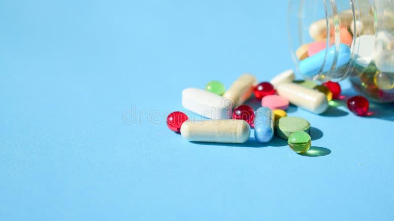 3D Printing Drugs royalty free stock photos