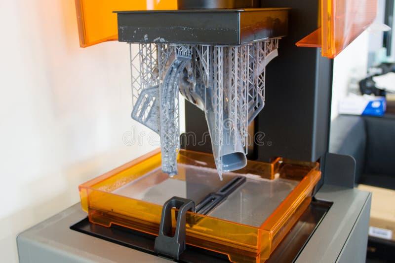 3D printing process stock images