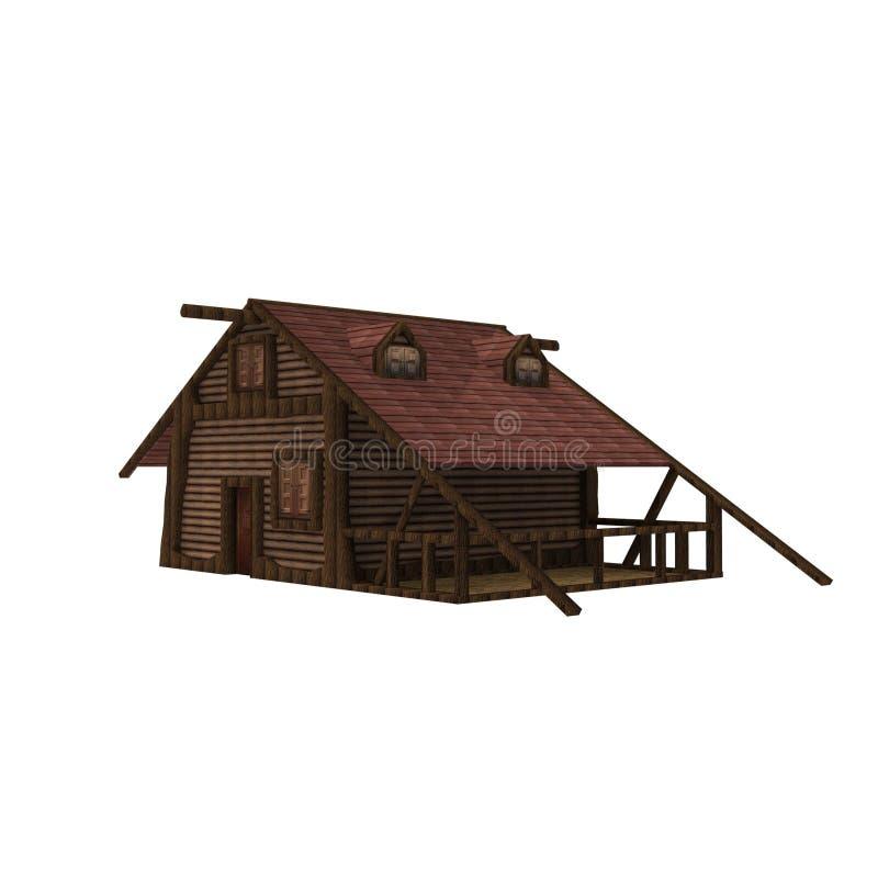 3D projekt dom przestrzeni rendering wynika od blender zastosowania ilustracja wektor