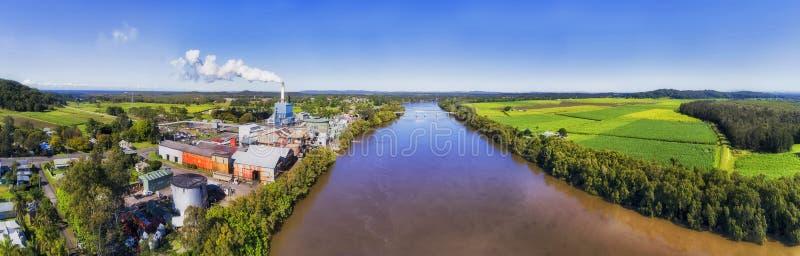 D QLD Sugar Mill pan royalty free stock image