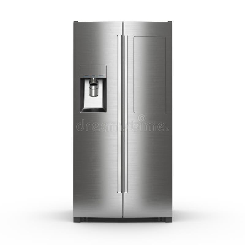3D que rinde el refrigerador grande libre illustration
