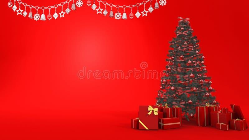 Campanas de navidad en 3d