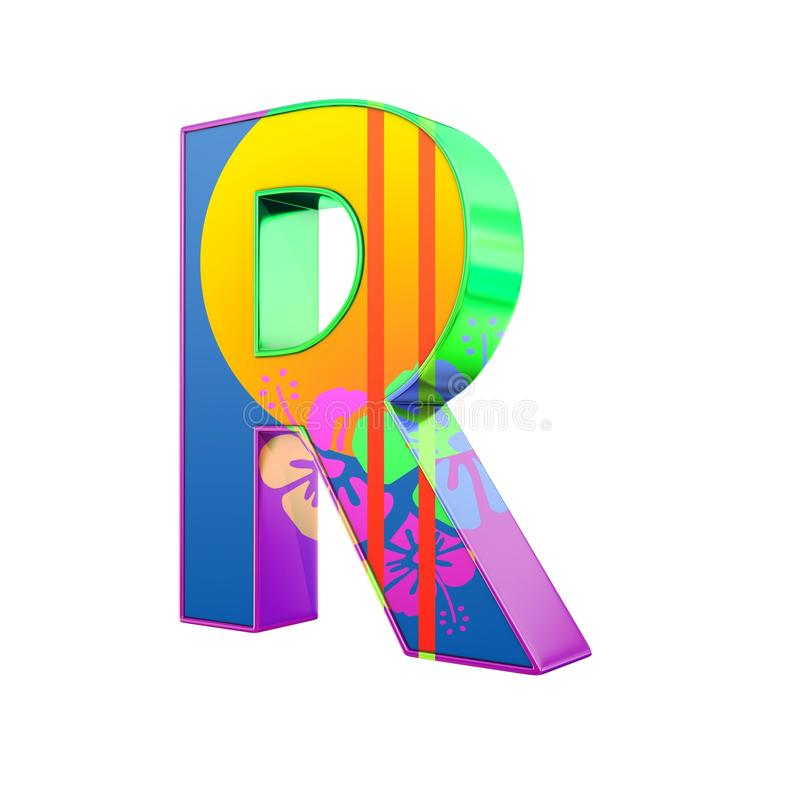 3d r letter with exotic colors stock illustration illustration download 3d r letter with exotic colors stock illustration illustration of font thecheapjerseys Image collections