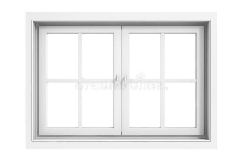 3d raamkozijn stock illustratie