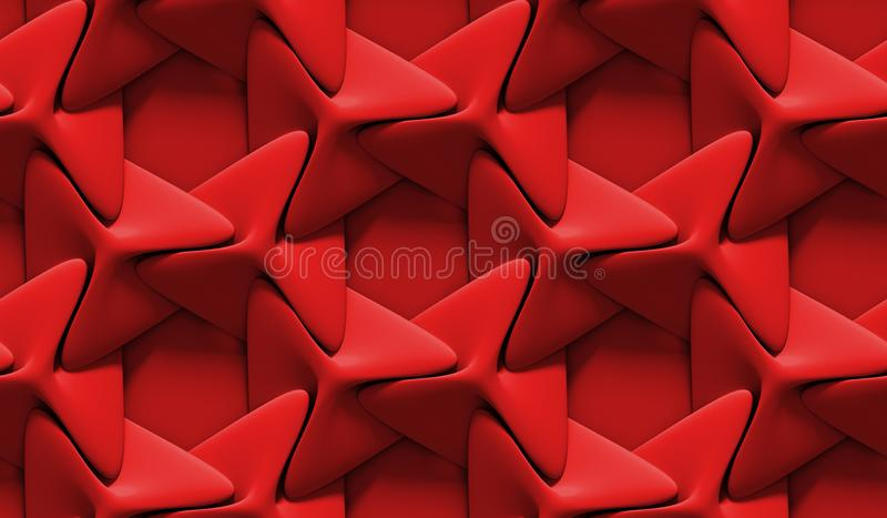 3d red abstract background rendering wallpaper and shadows vector illustration