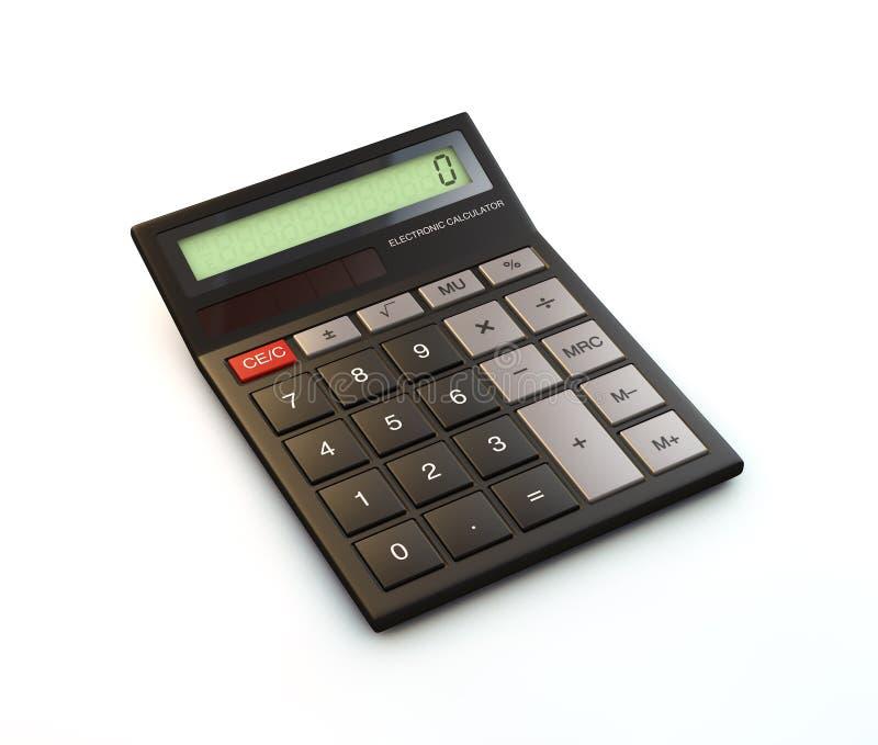 3D rendem da calculadora fotografia de stock royalty free