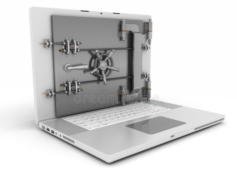 Segurança informática ilustração stock