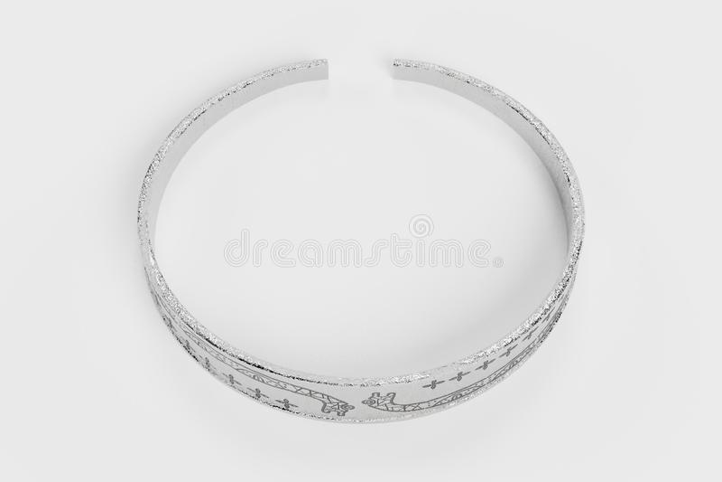 3D rendem de Viking Bracelet ilustração stock