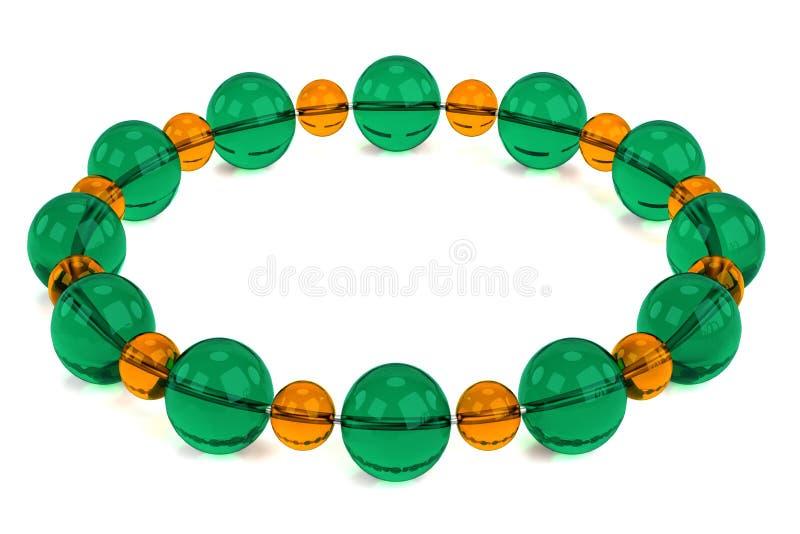 3d rendem do bracelete ilustração do vetor