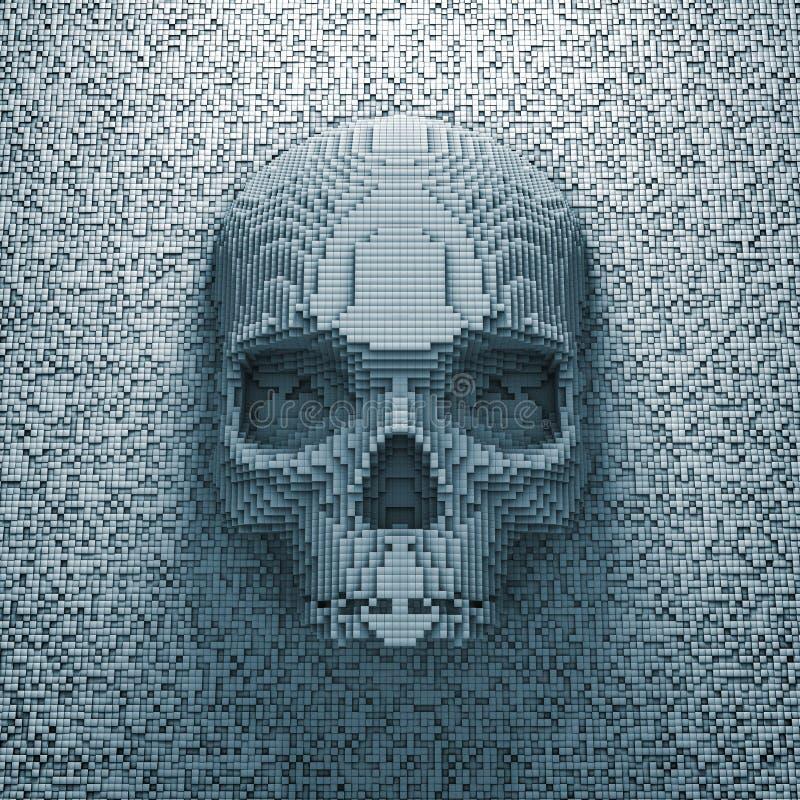 Crânio do pixel