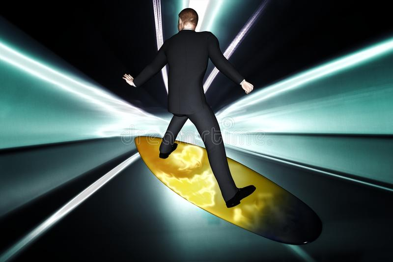 Download 3d Rendem O Homem De Negócio Ilustração Stock - Ilustração de communication, conceito: 29835667