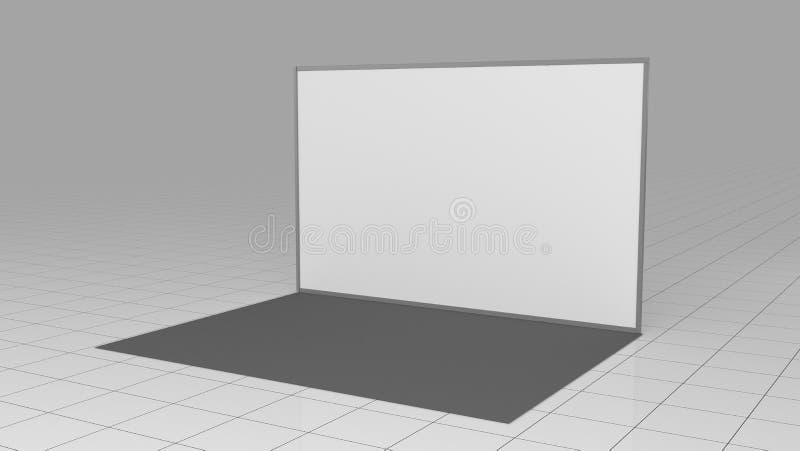 3d rendem a parede 4x2 da imprensa ? considerado como o s?mbolo do capital antigo xi ' backdrop Modelo 3d rendem isolado no fundo ilustração royalty free