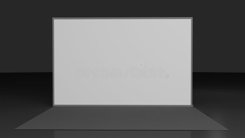 3d rendem a parede 4x2 da imprensa ? considerado como o s?mbolo do capital antigo xi ' backdrop Modelo 3d rendem isolado no fundo ilustração stock