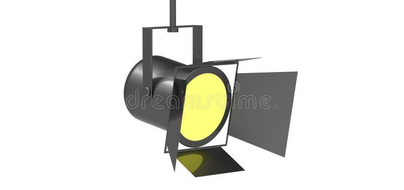Lumière de tache illustration stock