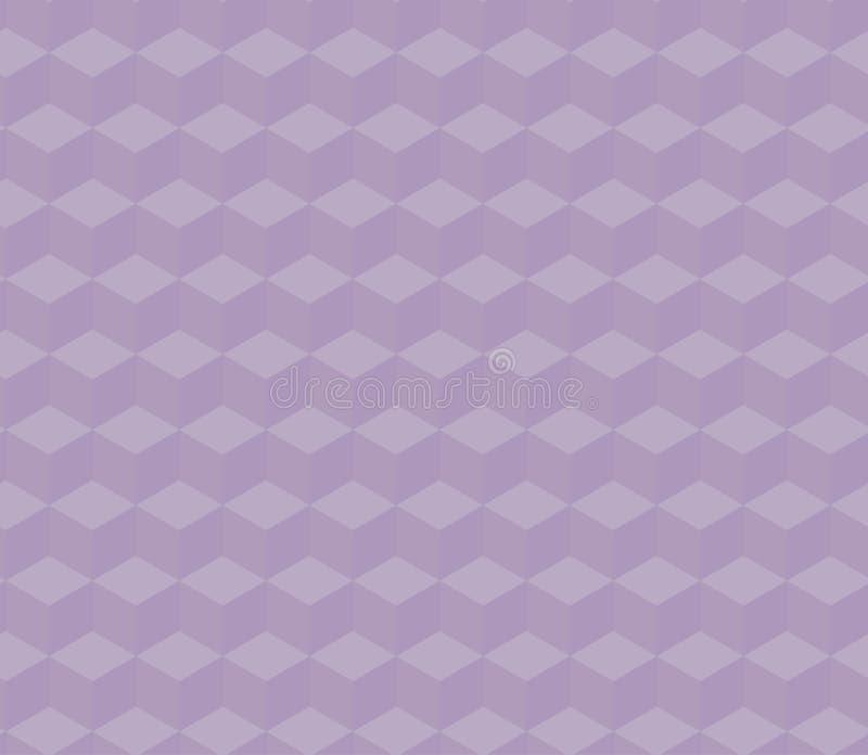 3d rendent les cubes isométriques photo stock