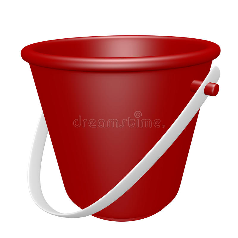 Download 3d Render of a Beach Pail stock illustration. Illustration of summer - 32093060